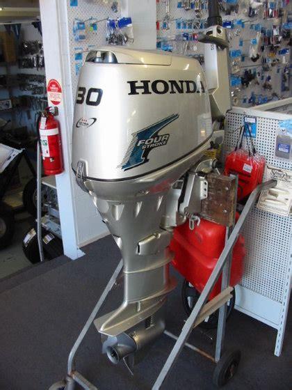 Used Honda Outboard Motors Used Honda 30 Hp 4 Stroke Outboard Motor Id 9482690