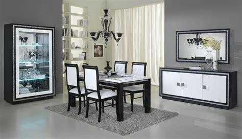 Attrayant Conforama Table Et Chaise Salle A Manger #3: salle_manger_design_laqu_e_noire_et_blanche_doria_9.jpg