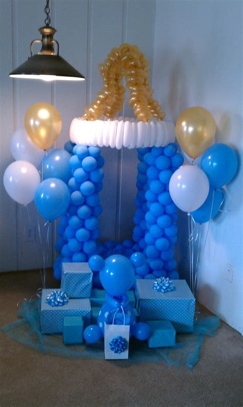 Baby Shower Balloon Arch by Pop Balloons May 2012