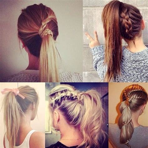 ponytail hairstyles back to school 7 easy and chic ponytail hairstyle for girls back to