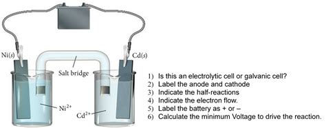 design lab on voltaic cell solved is this an electrolytic cell or galvanic cell lab
