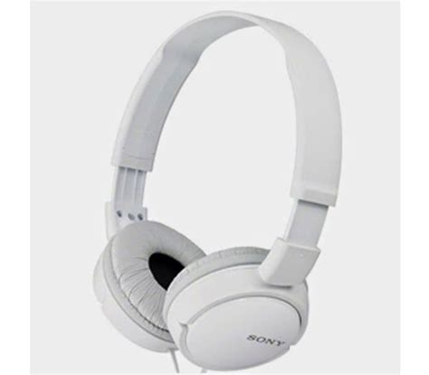 Headphone Mdr Zx110 sony mdr zx110 white headphone with high quality sound