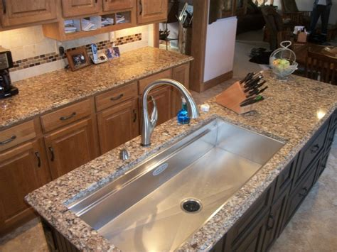 Galley Kitchen Sink Kitchen Remodel With Galley Sink Wellington Oh Contemporary Kitchen Cleveland By Cabinet
