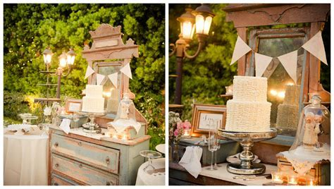 A Country & Vintage Style Wedding   Rustic Wedding Chic