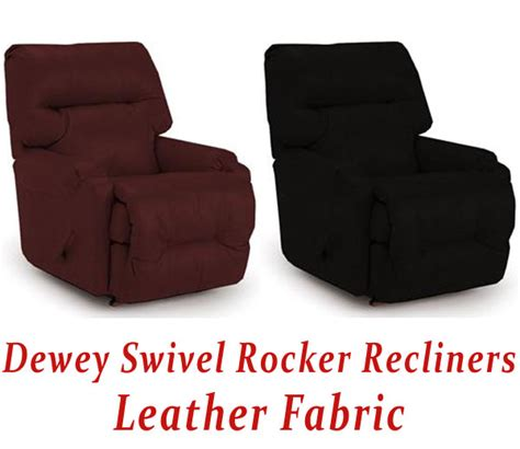 small leather swivel rocker recliner dewey swivel rocker recliner in leather