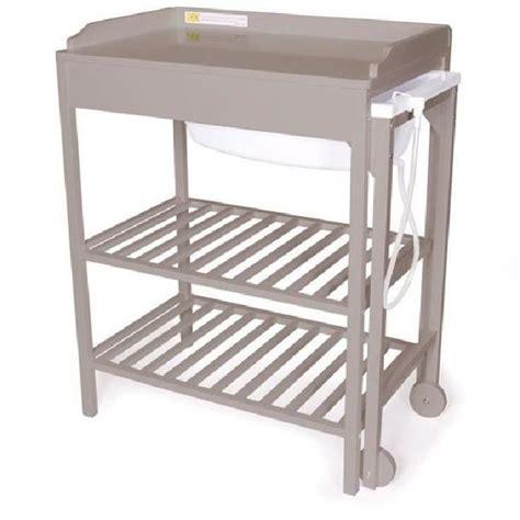 natineo table 224 langer baignoire gris gris achat