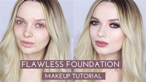 tutorial makeup flawless indonesia flawless foundation without concealer makeup tutorial