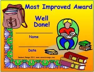 most improved award seomra ranga