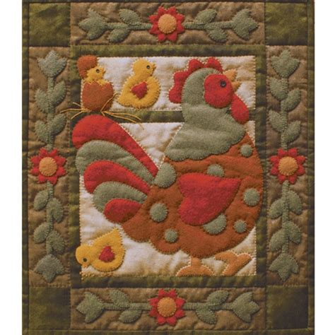 quilt pattern rooster spotty rooster wall quilt pattern by rachel s of