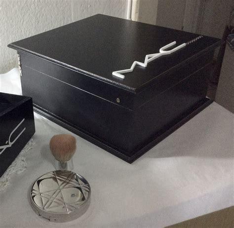 porta mac porta maquiagem mac atelier ren 233 e artes em madeira elo7