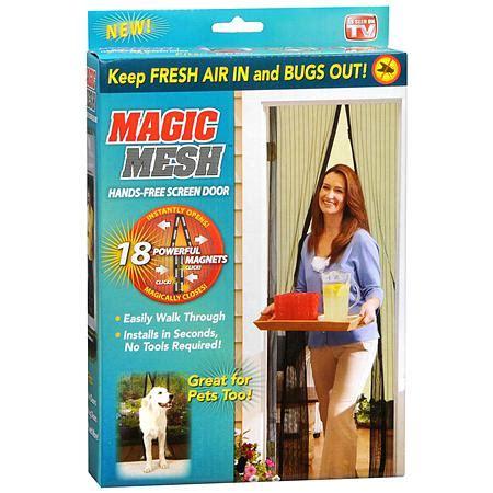Magic Mesh Free Screen Door by Magic Mesh Free Screen Door Walgreens