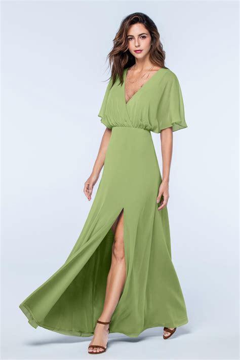 Bridesmaid Dresses Uk Sleeve - green bridesmaid dresses with sleeves budget