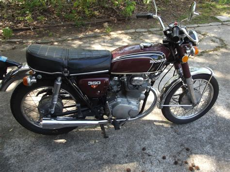 1973 honda cb350 cafe racer project for sale