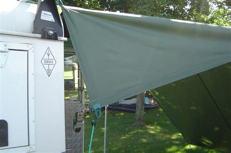 Awning Land by Overland Rovers 187 Home Made Awning