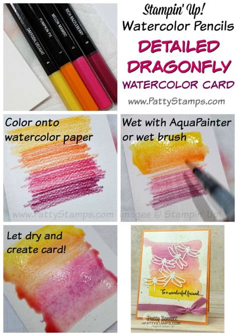 tutorial on using watercolor pencils 1000 ideas about paper crafting on pinterest st sets