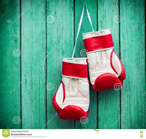 nail free hanging pair of boxing gloves hanging on a nail royalty free stock photography cartoondealer