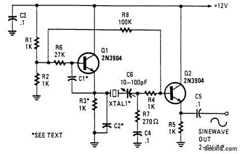 bipolar transistor oscillator circuit transistor osilator 28 images electronique transistor oscillator transistor oscillator