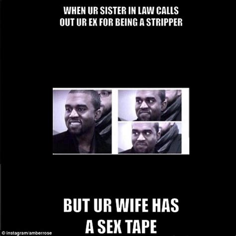 Meme And Rico Sex Tape - amber rose labels kim kardashian a wh re and says oj