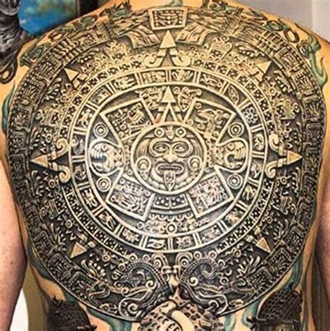 aztec calendar tribal tattoos 1000 images about tattoos on daniel o connell