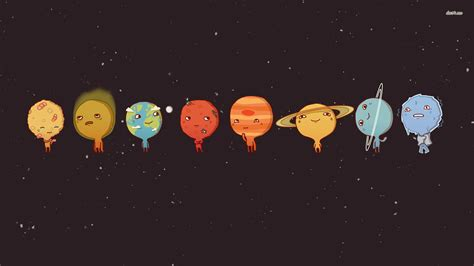 little space wallpaper http static2 wallpedes com wallpaper cute cute planets
