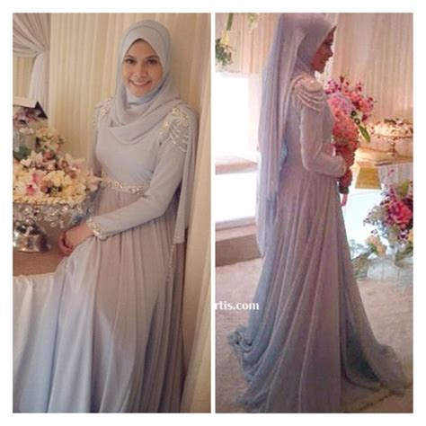 Gaun Diana Blue Maxi 35 best images about baju tunang nikah on