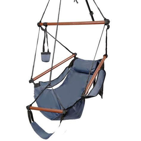 sky swing chair new deluxe hammock hanging patio tree sky swing chair