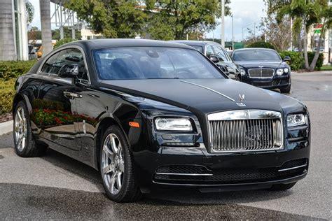 Cool Matte Black Rolls Royce Wraith