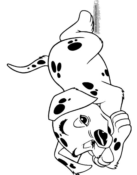 coloring pictures of dalmatian dogs 101 dalmatians printable coloring pages 2 disney