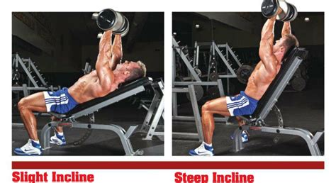 proper incline bench press angle lower pecs lose yo self