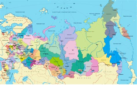 russia map by region maps of russia detailed map of russia with cities and