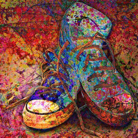 cool paintings my cool sneakers by barbara berney