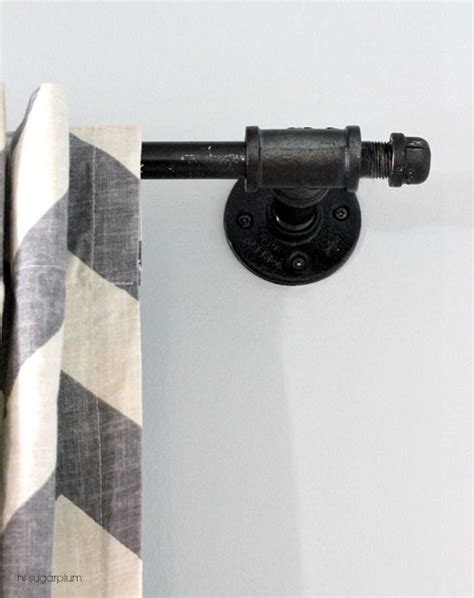 industrial looking curtain rods 25 best ideas about industrial curtain rod on pinterest