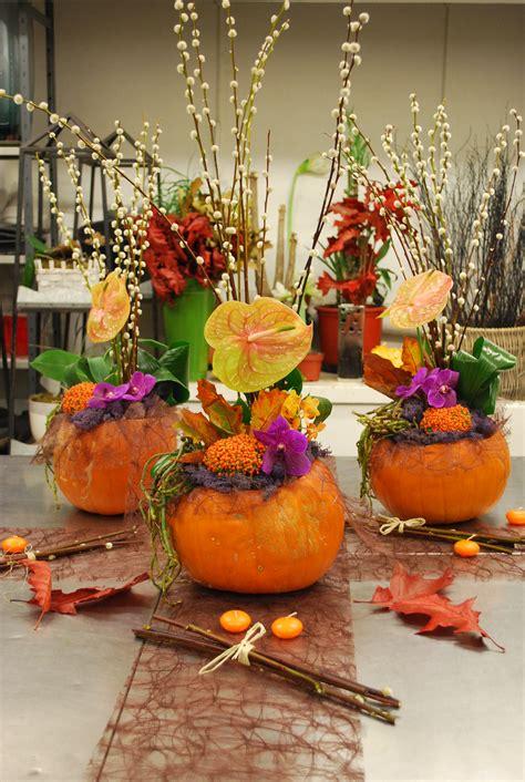 Green Foliage Outdoor Plants - atelier floral aquarelle com citrouille et fleurs de saison une jolie d 233 coration pour l