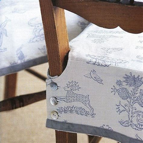 Diy Dining Chair Seat Covers How To Make A Buttoned Chair Cover Cevered Chair