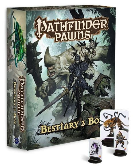 pathfinder pawns traps treasures pawn collection books paizo pathfinder pawns bestiary 3 box