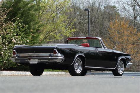 chrysler 300k 1964 chrysler 300k convertible black 413ci 360hp