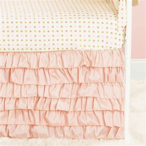 Crib Ruffle Skirt by 1000 Ideas About Ruffled Crib Skirts On Crib