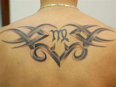 virgo tribal tattoos virgo tattoos designs ideas and meaning tattoos for you