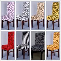 Dining Chair Covers Pattern 1 Sure Fit Soft Stretch Spandex Pattern Chair Covers For Kitchen Chair Dining Chair