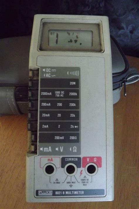 Lcd Fluke fluke 8021b lcd repair 2 everybody staze