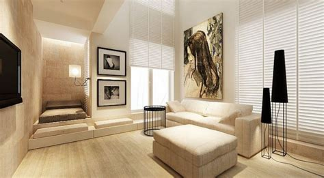 open plan apartment fresh neutral interior design schemes from katarzyna