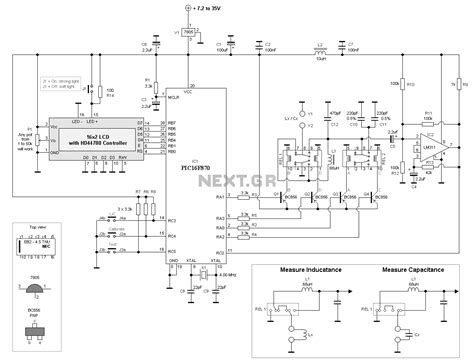 inductor schematic lc inductance capacitance meter schematic images frompo