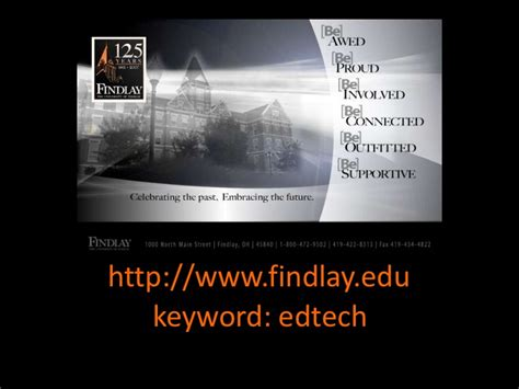 Of Findlay Mba Subjects by Teaching Learn21 Conference