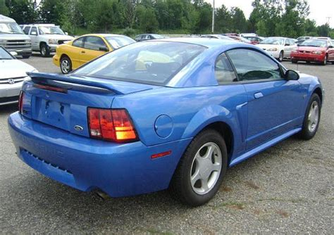 2000 blue mustang bright atlantic blue 2000 ford mustang gt coupe