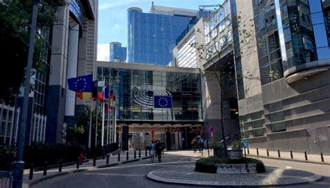 bruxelles sede parlamento europeo in visita alla sede di bruxelles