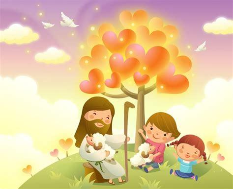 imagenes religiosas infantiles inspirazion cristiana vectores cristianos