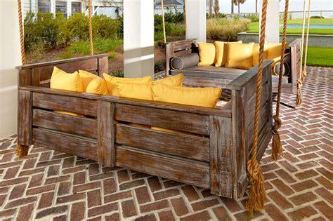Pergola Swings by 15 Best Rustic Outdoor Design Ideas