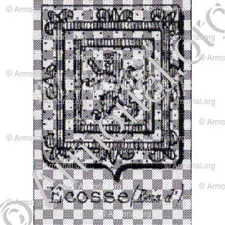 Armoiries Ecosse by Ecosse Rois D Armoiries Blason Etymologie Et