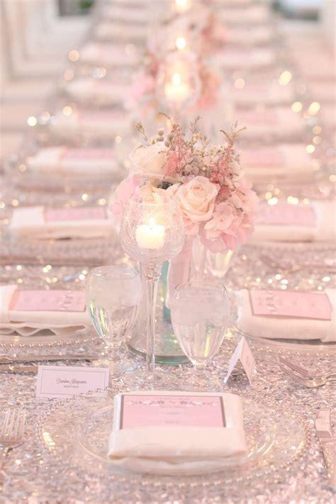 blush pink decor glitter and blush winter park wedding at casa feliz park