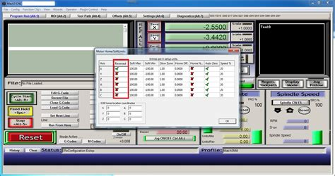 konfig axsis mach3 setup tutorial first movements poblog
